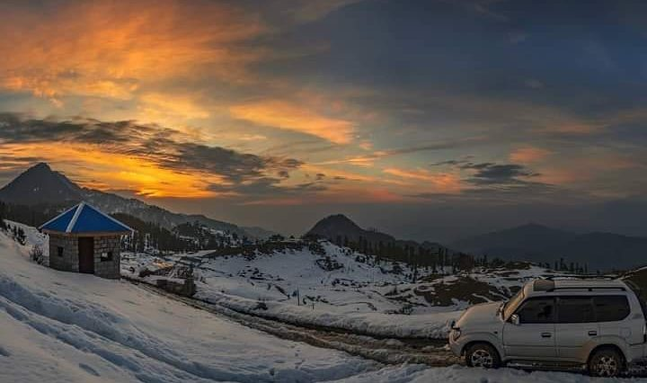 Sunset at Malam JabbaBook your trips with