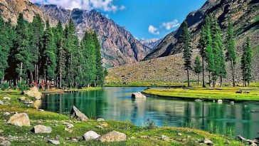 Swat Valley, KPK, Pakistan. The valley is one of the major tourist attractions o