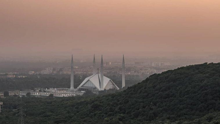Jummah Mubarak!  Faisal Masjid, Islamabad.