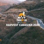 Our Caravan for Harvest Festival Pakistan Containing more than 250 People.  Than