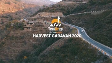 Our Caravan for Harvest Festival Pakistan Containing more than 250 People.Than
