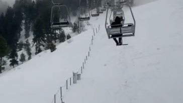 Snowy season on its maximum at Malam Jabba Swat Malam Jabba is one of the must