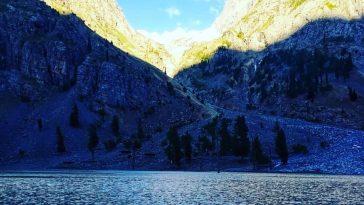The beautiful Kharkharrai lake Gabral Swat.