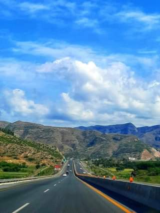 May be an image of sky, road and nature