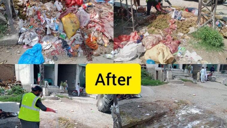 Sanitation Activity and Disposal of offal's campaign (Sub-Division Kabal):