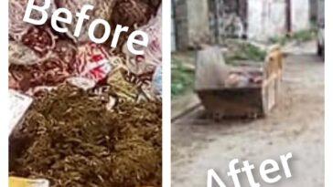 Sanitation Activity and Disposal of offal's campaign (Tehsil BARIKOT):