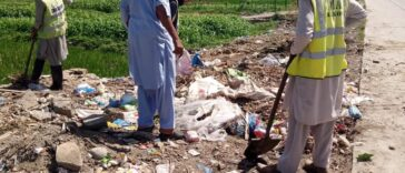Sanitation Activity and Disposal of offal's campaign/  The hygienic disposal of animal waste on 2nd
