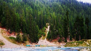 A breathtaking place in Swat Valley, Pakistan
