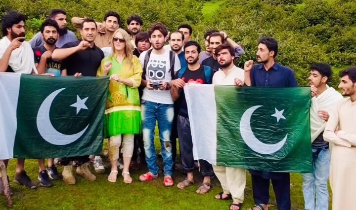 Happy independence day  American's in gabin Jabba swat . . . . . . .