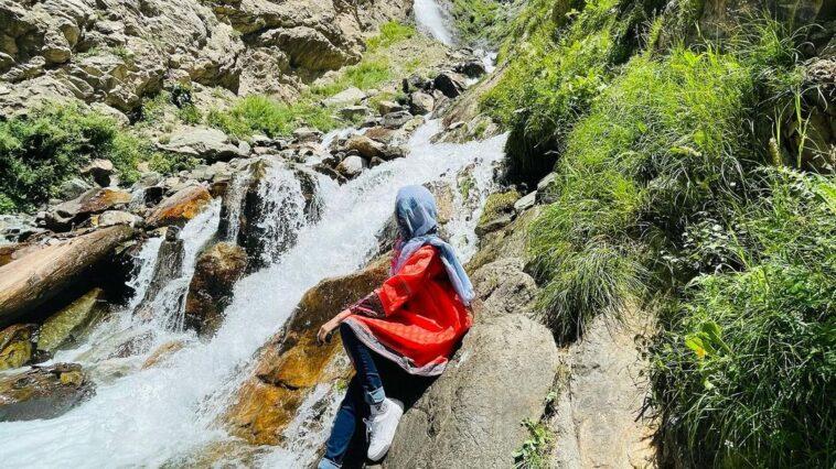 mataltan waterfall kalam . . . . . . .