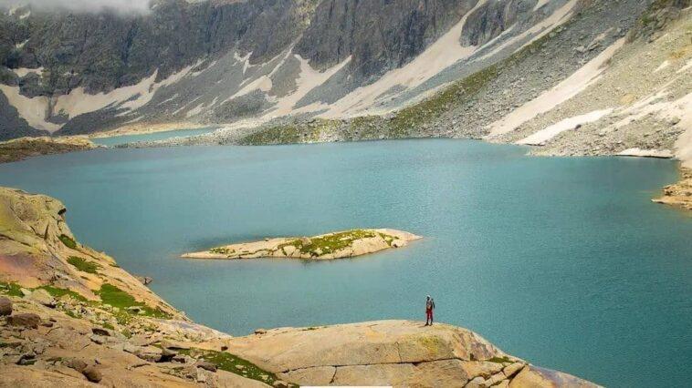 Shaitan Gwat lake, Behrain Swat... Follow For more. Follow For more. Fol