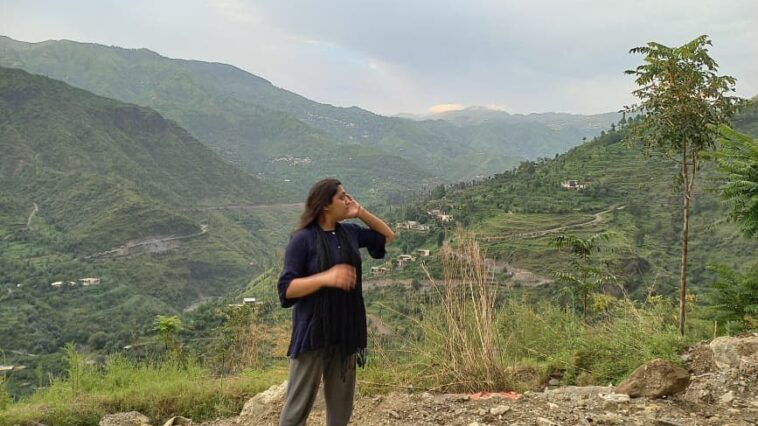 Ignore my outfit and just look at the view omg so prettySwat PakistanRaatp