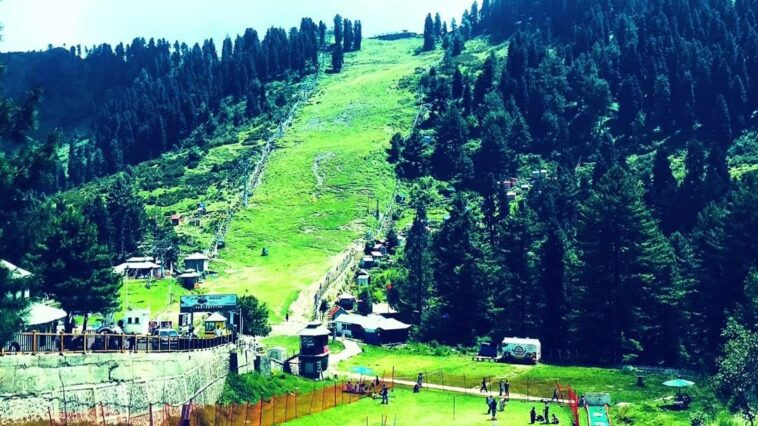 Malam Jabba is home to one of the two ski in Pakistan; the other is at Naltar, G