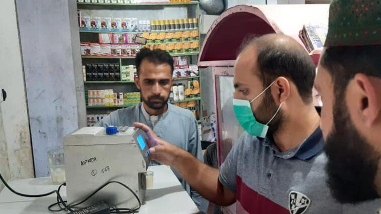 سوات میں حلال فوڈ اتھارٹی کی کارروائی، مضر صحت اشیائے خوردنوش بیچنے /بنانے والوں کے خلاف کاروئی۔