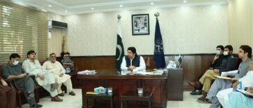 ڈپٹی کمشنر سوات جنید خان کی زیر صدارت انسداد پولیو مہم کے سلسلے میں ایوننگ جائزہ اجلاس کا انعقاد۔